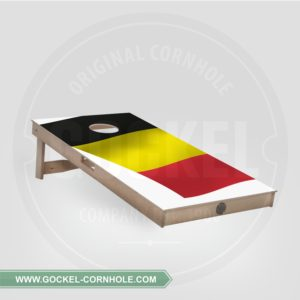 SINGLE - CORNHOLE BOARD BELGISCHER FLAGGE