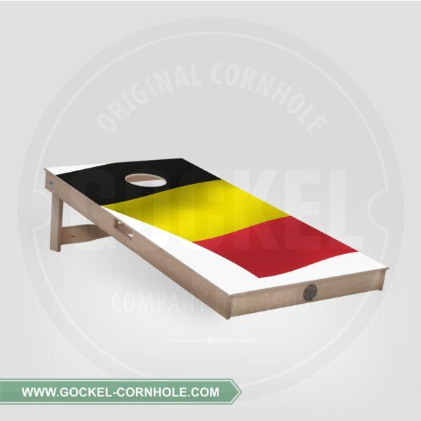 SINGLE - CORNHOLE BOARD BELGISCHER FLAGGE