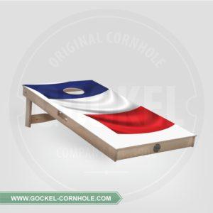 Cornhole Board mit französische Flagge print für jede Party!