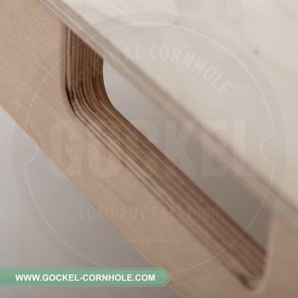 Alle GOCKEL Cornhole-Produkte werden in professioneller Handarbeit in Europa hergestellt.
