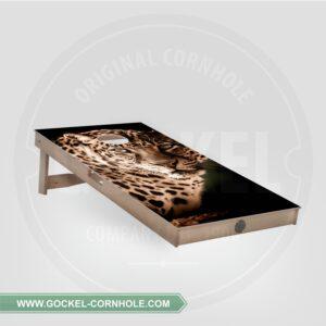 Cornhole board - leopard