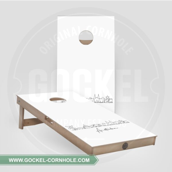 Cornhole Boards - Skyline Amsterdam