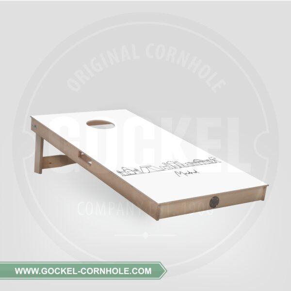 Cornhole Board - Skyline Madrid