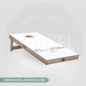 Cornhole Board - Skyline Rom