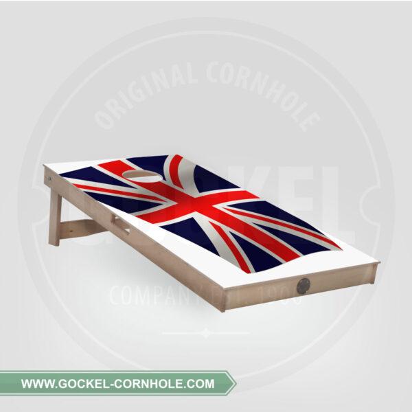 CORNHOLE BOARD - ENGLISCHE FLAGGE