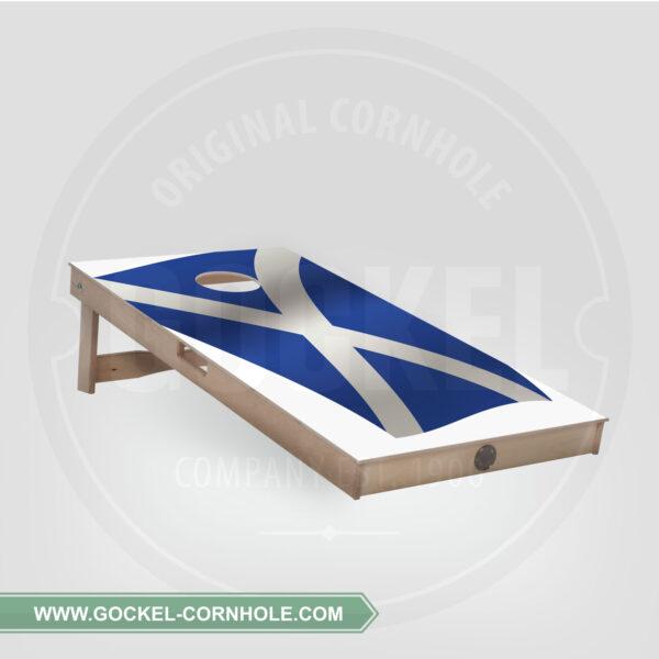 CORNHOLE BOARD - SCHOTTISCHE FLAGGE