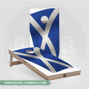 CORNHOLE BOARDS - SCHOTTISCHE FLAGGE